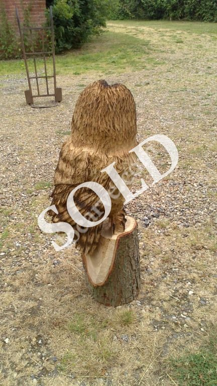 Chainsaw sculptures for sale luke chapman woodcarver
